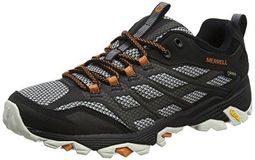 Merrell Moab Fst Gore-Tex, Stivali da Escursionismo Uomo, Nero (Black), 41 EU