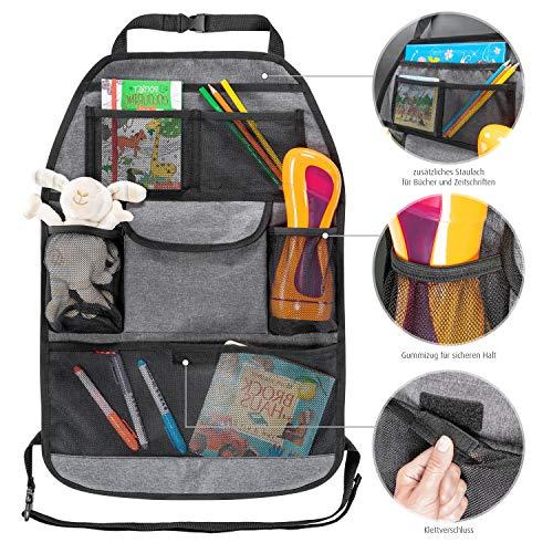 rganizer TravelKid Tidy, schmutzabweisend, viele Taschen, für alle Autositze, auch Sportsitze, grau ()
