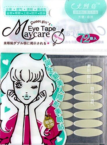 Schlupflid-Augenlid-Lifting 'breit' stripes.Double Eyelid 144 Streifen Tape