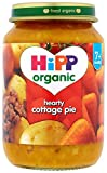 HiPP Organic Stage 2 From 7 Months Cottage Pie 6 x 190 g (Pack of 2, Total 12 Pots)
