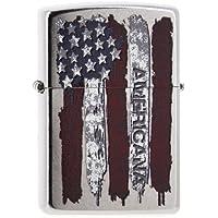 briquet zippo drapeau américain