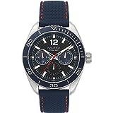 Nautica Key Biscayne Reloj de hombre cuarzo 44mm correa de nylon NAPKBN003