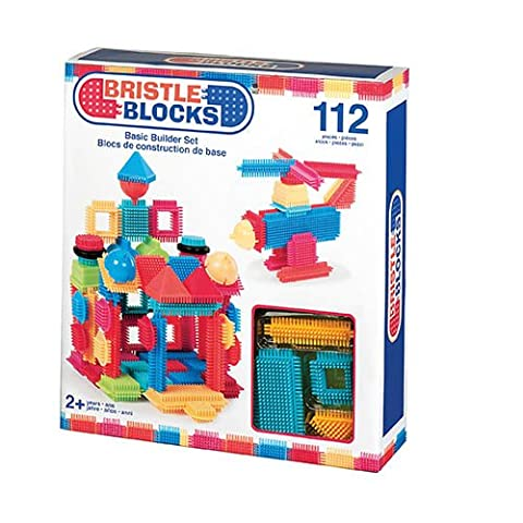 Bristle Blocks Basic Builder Box (112 Pieces)