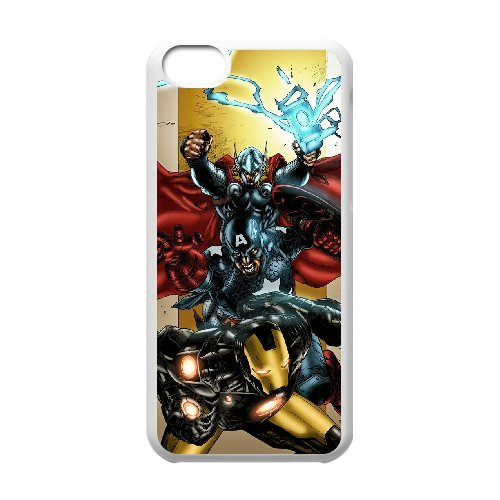 LP-LG Phone Case Of Avengers Marvel For Iphone 5C [Pattern-6] Pattern-4