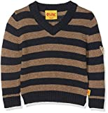 Steiff Baby-Jungen Pullover 1/1 Arm, Mehrfarbig (Y/d Stripe|Multicolored 0001), 62