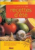 Le petit livre de recettes d'été...