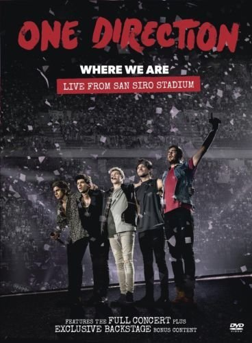 Where We Are:Live from San Sir [DVD-AUDIO] (One Direction Live-dvd)