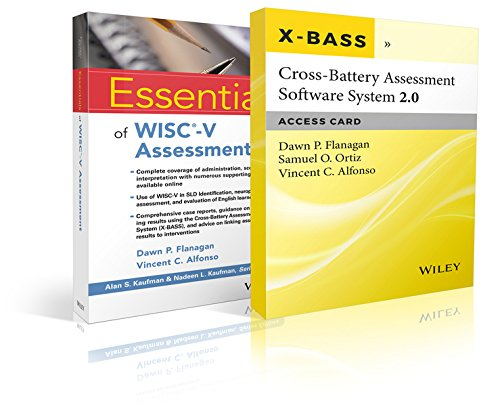 Essentials of Wisc-V Assessment with Cross-Battery Assessment Software System 2.0 (X-Bass 2.0) Access Card Set (Essentials of Psychological Assessment)