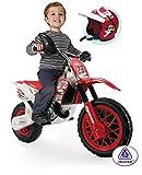 Injusa - Moto Enduro con casco, de 6 V (677)