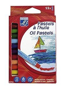 Lefranc & Bourgeois - Pack de 12 Pasteles al óleo de 8 mm