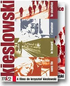 Coffret Digipack Kieslowski 4 DVD : La Cicatrice / L'Amateur / Le Hasard / Sans Fin