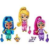 Nickelodeon Shimmer & Shine Genie Friends Set 15 cm Muñecas de juguete By Fisher Price