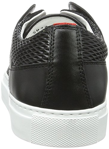 HUGO Damen Connie-p 10195754 01 Sneakers Schwarz (Black 1)