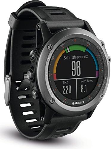 fenix 3 performer bundle Garmin fenix 3 GPS-Multisportuhr, Smartwatch-, Navigations- und Sportfunktionen, GPS/GLONASS, 1,2 Zoll (3 cm) Farbdisplay, 010-01338-01