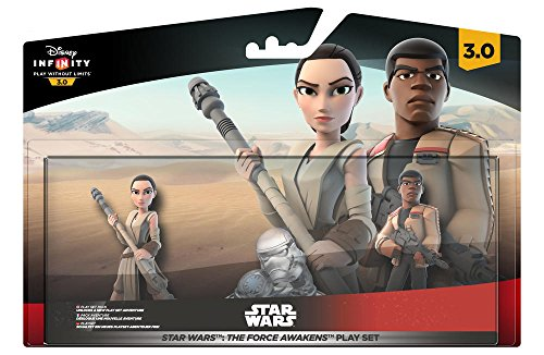 Pack figuras Star Wars Rey y Finn