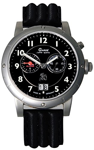 Garde Uhren aus Ruhla Herrenuhr mit Alarm DIXI Limitiert 33-32