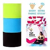YukiKnows® Pro3 Extreme Bande de kinésiologie Brillante pour muscles 5 cm x 5 m