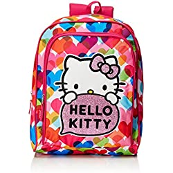 Hello Kitty Mochila Infantil, Color Rosa