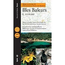 Mapa ecoturístic de les Illes Balears (català/alemany) (Descubrir la Naturaleza)