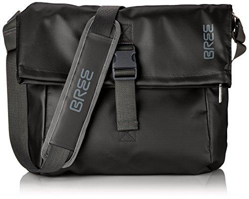 Bree Punch 99 Messenger Bag LKW Plane, Schwarz