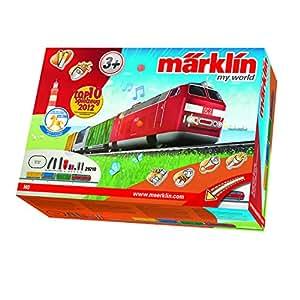 Märklin 29210 - Startpackung Güterzug mit Batterieantrieb und Magnetkupplungen