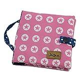 Bücher-Tasche für Pixi Bücher, Büchertasche, Stoffhülle, Stern rosa / pink ❤ SmukkeDesign NEU