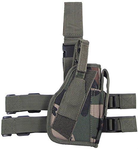Fondina-pistola da gamba gamba- e Cintura fissaggio