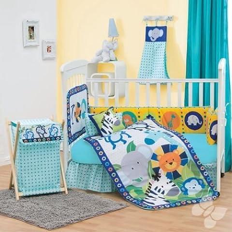Diego Crib Bedding 12Pc Complete Set