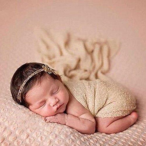 Butterme Neugeborene Baby-Fotografie Stützen - lange Ripple Wrap Decke DIY Baby Foto Prop (Diy Super Baby Kostüm)