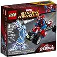 Lego Super Heroes - Marvel - 76014 - Jeu De Construction - Spider-trike Contre Electro