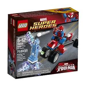 LEGO 76014 -  Super Heroes Moto-Ragno Vs. Electro