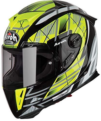 Preisvergleich Produktbild Airoh GP5_D31_L Helmet,  Drift Yellow Gloss,  L