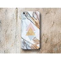 Dreieck Weiß Marmor Handy Hülle