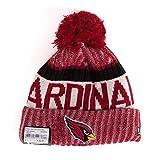New Era Arizona Cardinals Bommelmütze - NFL Sideline - Rot
