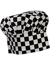 MagiDeal Unisex Elastico Cappello Protezione Cappellini Uniforme da Cuoco  Chef Cucina d1e5c7415231