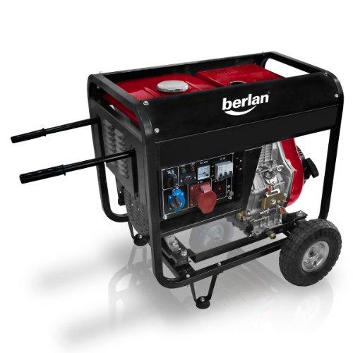 4,5 KW Diesel Stromerzeuger 230 x 400 Volt