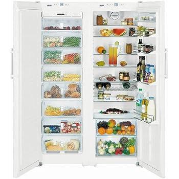 Liebherr SBS 7252 Premium NoFrost - frigos américains (Autonome, Blanc, Américain, A++, LED, SN-T)