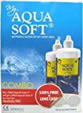 #3: Aquasoft multi-purpose lens solution combo Pack (360ml + 360ml)
