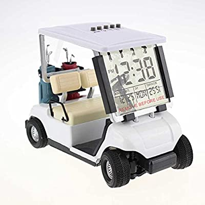 Crestgolf Mini despertador carrito