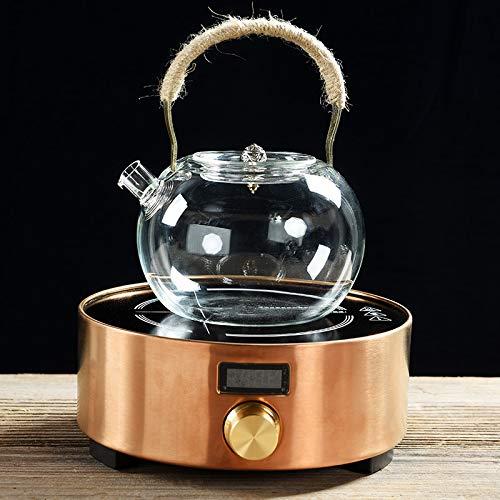 GBCJ Seitentopf im japanischen Stil, Hochtemperatur-Glasblumentopf, elektrischer Haushaltsherd, Teekocher, Filter und kochender Anzug.