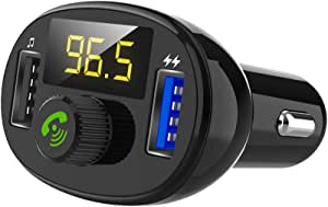 Lettore Display LCD U-Disc BT08 MP3 USB Car Charger Kit Adattatore TiooDre Trasmettitore FM
