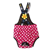 #10: Generic Female Dog Suspender Sanitary Diaper Pants With Dots - Xl Random Color