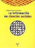 La información en ciencias sociales (Biblioteconomía y Administración Cultural)