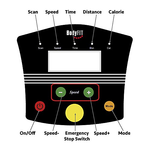 Motorised-Electric-Treadmill-Folding-Running-Machine-Square-LED-Screen-with-3-Programs-10km-Folds-Away-for-Home-or-Office-Use-by-BodyFit