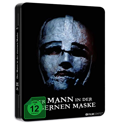 Der Mann In Der Eisernen Maske (Steel Edition) (Geprägtes Cover) [Blu-ray]