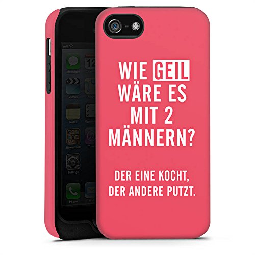 Apple iPhone X Silikon Hülle Case Schutzhülle Frauen Humor Sprüche Tough Case matt