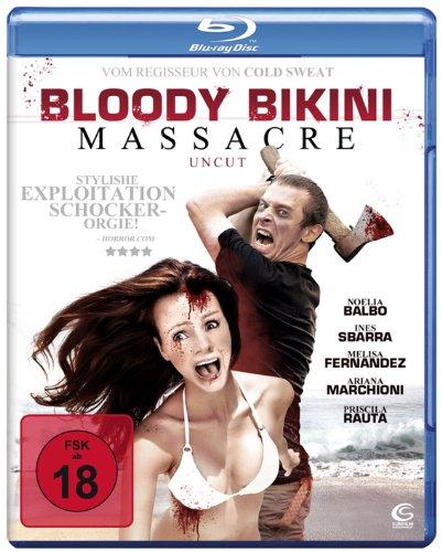 Bloody Bikini Massacre (Uncut) [Blu-ray]