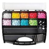 Prym 393900Druckverschlussset, 300 Teile + Werkzeuge, Kunststoff, Mehrfarbig 2x 1x 1cm