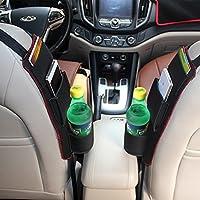Raiphy Auto Seite Aufbewahrungstasche Aufhängen Organizer Halterung für Getränke, Stifte, Gläser, Snacks, Karten, Gadgets