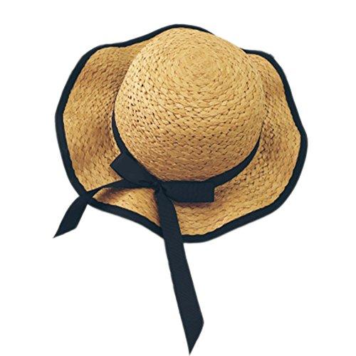 rand-Hut-Frau-beiläufiger Hut Feiertags-Strand-Ferien-Freizeit-Eltern-Kind Kappe Mutter-und Tochter-Hut (Safari Frau Kostüm)